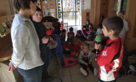 Le parc Naturel Régional du Vercors. Quésaco? Par l'école de St-Croix. Episode 5/ Dans l'office du tourisme de Sylvie.