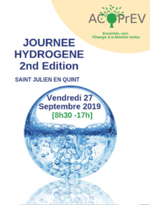 Journée Hydrogène 2nd Edition à Saint-Julien-en-Quint