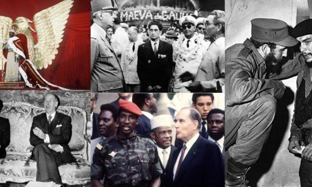 A LA RECHERCHE DU GROOVE PERDU (291) Musique et politique 3 – Giscard, De Gaulle, Bongo, Bokassa, Fidel … : présidents super star !