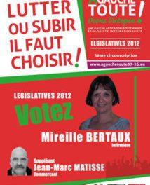 Mireille Bertaux – Nouveau Parti Anticapitaliste