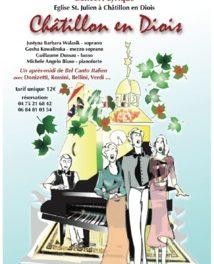 Concert Lyrique à Chatillon-en-Diois