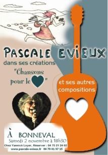 «Des épines et des roses», Pascale Evieux en concert à Boulc