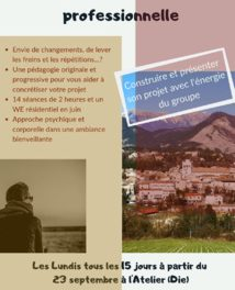 Atelier de transition professionnelle par Antoine Ducloux