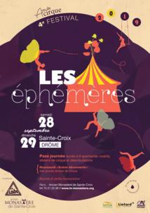 Les Ephémères 2019