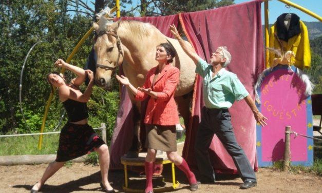 La Steppe Théâtre et son «Apothéose Equestre» au Snack du Claps