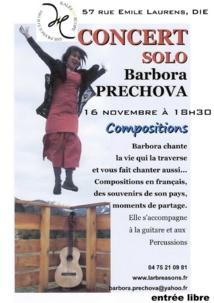 Barbora Préchova au Baradie