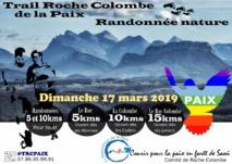 Trail de Roche-Colombe de la Paix du 17 mars