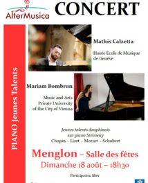 Concert au piano avec Alter Musica