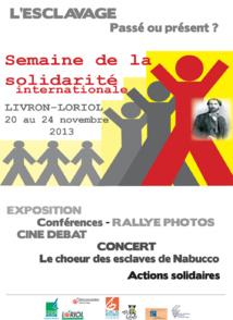 La semaine de la solidarité internationale de Livron s/ Drôme