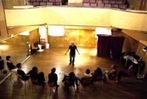 Les Ateliers Théâtre de Luc en Diois avec Todd et David