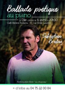 Sebastien Brelaz au café-théâtre Andarta