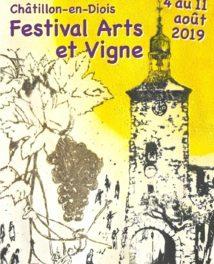 Le festival Arts et Vigne de Châtillon-en-Diois