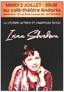 Irina Shvedova invitée du Mois slave