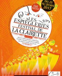 Les Espiègleries Festival de la Clairette, en direct du Musée de Die le 27 mai 2017