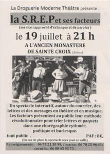 Droguerie Moderne Théâtre, deux dates en juillet 2013