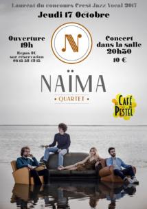 Naïma Quartet au Café du Pestel