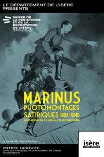 Marinus, photomontages satiriques