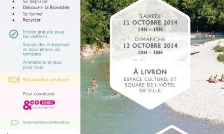 Biotop [139] : Vivre La Biovallée®, 11 & 12 octobre 2014