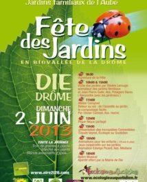Biotop [068] : Fête Des Jardins Familiaux de Die le 2 juin 2013