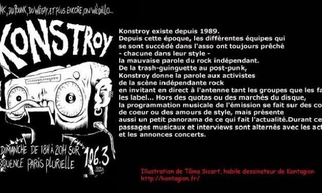 Été Coton-Tige : Konstroy/ Fréquence Paris Plurielle