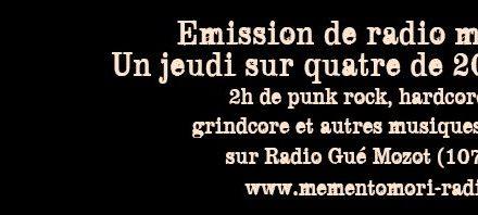 Été Coton-Tige : Memento Mori/ Radio Gué Mozot