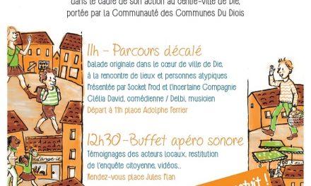 Villages Vivants & Socket Prod présentent : La Balade Décalée