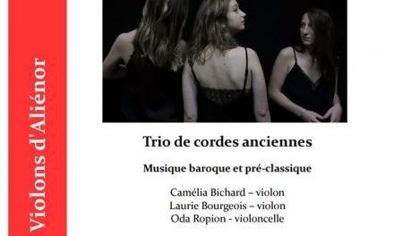 Concerts du Nouvel An par les Violons d'Aliénor
