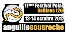 Le 11ème festival de romans policiers « Anguille sous roche »  le 13&14 octobre à Saillans