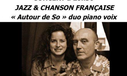 «Autour de So» au café-théâtre Andarta vendredi 27 novembre 2015