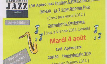 Blue Motte Jazz Festival, 2ème édition !