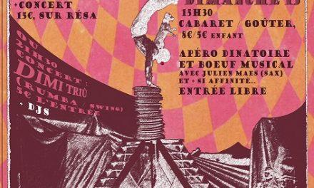 Cabarnave : Cabaret cirque sous chapiteau chauffé