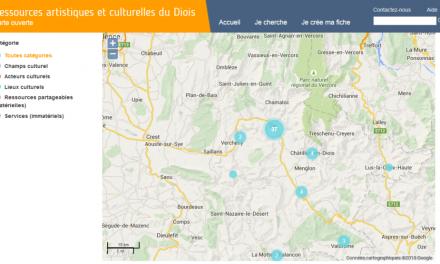 Cartographie Interactive des acteurs culturels du Diois : Réunions d'information
