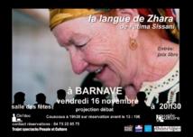 CinéDoc à Barnave : «La Langue De Zahra» de Fatima Sissani