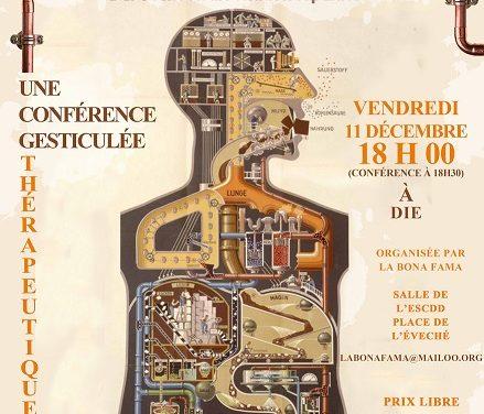 Conférence gesticulée sur la santé le 11 décembre