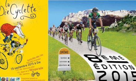 Un Week-end consacré au Vélo avec la Diecyclette et la Dromoise