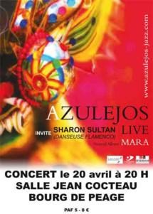 Festival des «Endimanchés» et Philippe Guidat du groupe Azulejos