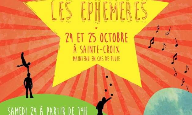 Les Éphémères, 2ème édition !