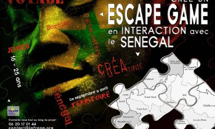 PROJET 16-25 ANS : ESCAPE GAME DROME-SENEGAL