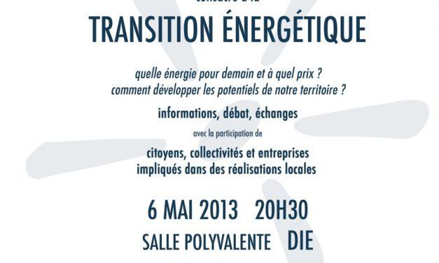 Rendez-vous aux débats citoyens sur la transition énergétique !!!