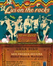 Lus On The Rocks : 18 août 2012