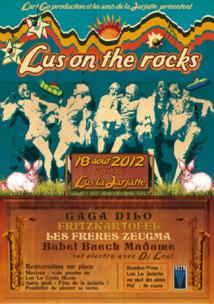 Lus On The Rocks : 18 août 2012
