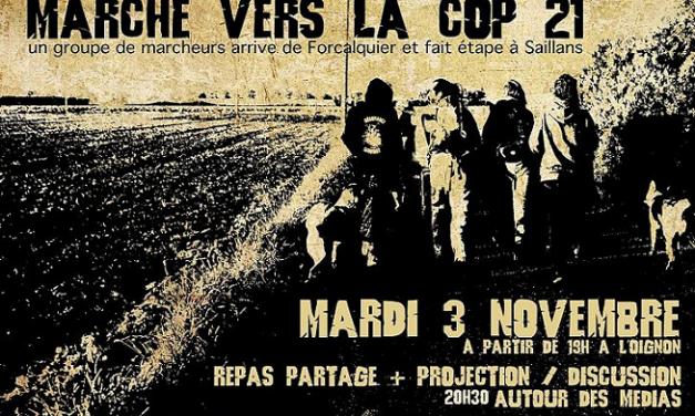 Marche Cop21 en Diois