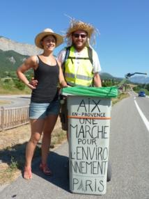 Une marche pour l'environnement