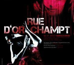 Rue d'Orchamps, écrit et joué par Harold David !