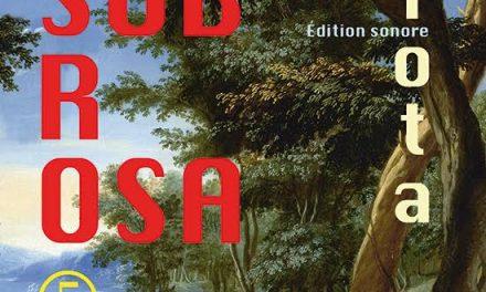 Sub Rosa, revue d'arts…