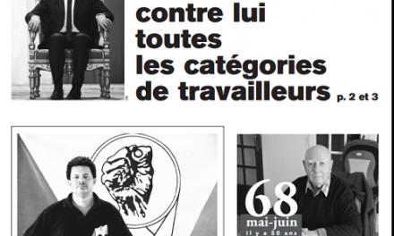 Tribune Libre #18 Macron a dressé contre lui toutes les catégories de travailleurs