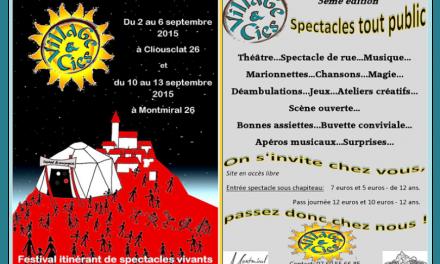 Villages et Compagnies, Festival Itinérant dans la Drôme