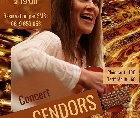 Eva Cendors, la tournée dioise…