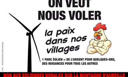 Haut-Buëch Nature contre l'Éolien Industriel
