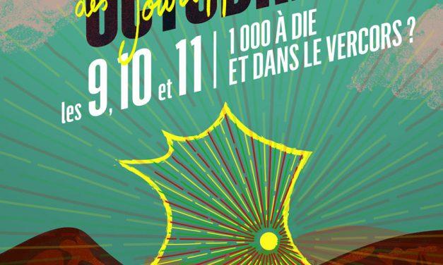 CNNR les 9, 10 et 11 octobre à Die ! Avec Martin Rieussec-Fournier